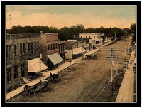 A historic shot of downtown Holstein